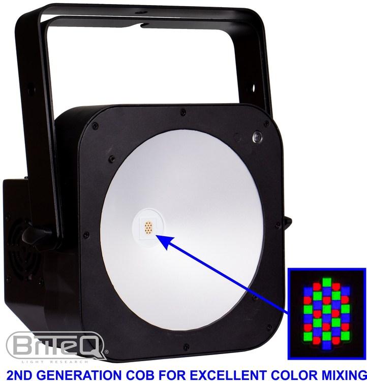 Briteq LED Plano Spot COB SLIM100-RGB