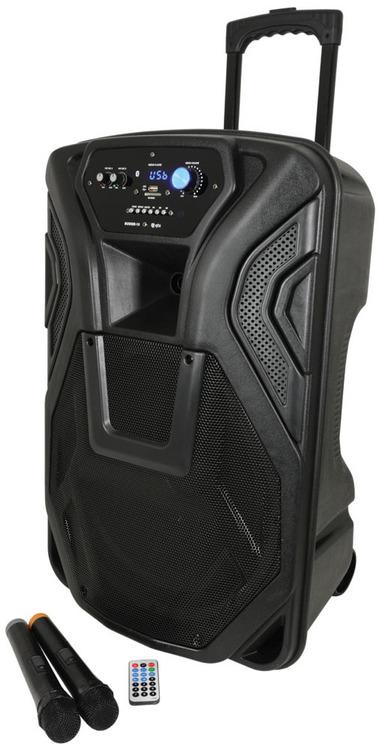 QK12PA - Portabelt PA med Blåtand och trådlösa mikrofoner!, Busker
