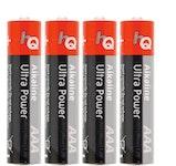 HQ Batteri - AAA/LR03, 4-pack