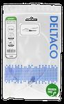 Deltaco U/UTP Cat6A patchkabel, 0,5m, 500MHz Vit