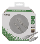 Deltaco U/UTP Cat6 patchkabel, 0,5m, 250MHz