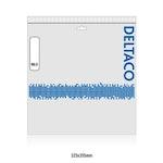 DELTACO U/UTP Cat6 patchkabel, flat, 20m, 250MHz, vit