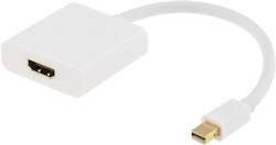 Deltaco Aktiv mini DisplayPort till HDMI-adapter med ljud