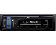 JVC KD-X161 Enkeldin, USB/AUX på front, kort chassi, 4x50W