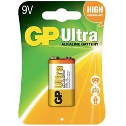Batteri - 9V/6LR61/1 1-pack - GP Ultra
