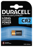 Duracell Ultra Photo CR2 Batteri, 1-Pack, long-life, silver