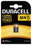 Duracell MN11 A11 Batteri, 1-Pack, long-life, silver