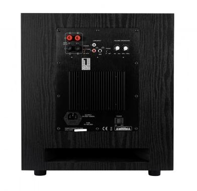 System One W120 aktiv subwoofer, svart