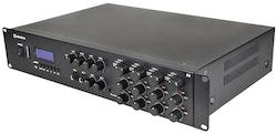 Adastra A8 4-Zons Stereo PA-Förstärkare + BT, 1600W RMS
