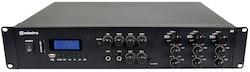 Adastra A6 3-Zons Stereo PA-Förstärkare + BT, 1200W RMS