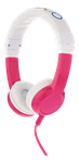 BuddyPhones Explore Foldable Kids Headphones m. mik, rosa