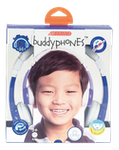 BuddyPhones Explore Foldable Kids Headphones m. mik, blå