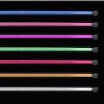 """Lightz 2x36"""" & 2x46"""" LED-exteriörbelysning, flerfärg"""
