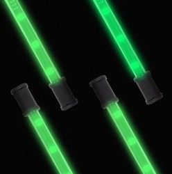 "Lightz 4x9"" LED-interiörbelysning, Grön färg"
