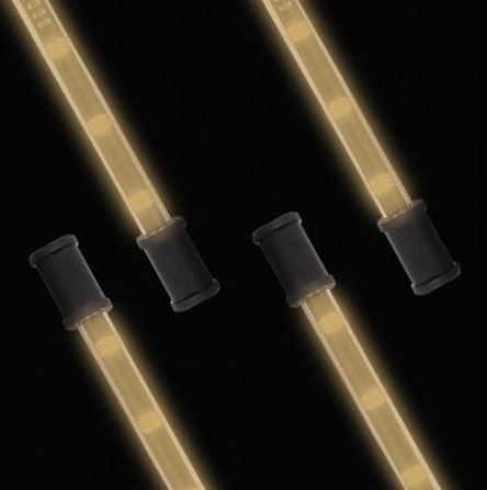 "Lightz 4x9"" LED-interiörbelysning, Orange färg"