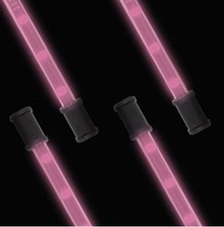 """Lightz 4x9"""" LED-interiörbelysning, Rosa färg"""