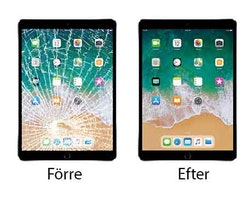 iPad mini Glasbyte