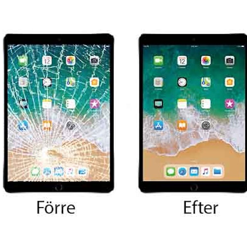 iPad Air Glasbyte