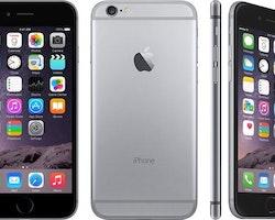 Begagnad iPhone 6 Svart, 64GB Olåst