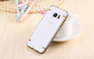 Samsung Galaxy S7 Edge Skal Guld