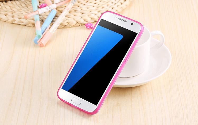 Samsung Galaxy S7 Edge Skal Rosa