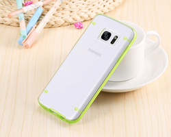 Samsung Galaxy S7 Edge Skal Grön