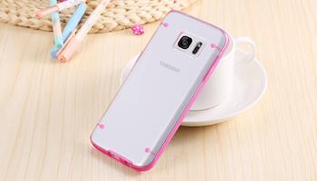 Samsung Galaxy S6 Skal Rosa