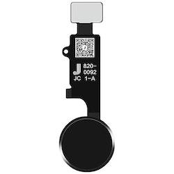 Universal iPhone 8 Hemknapp Svart