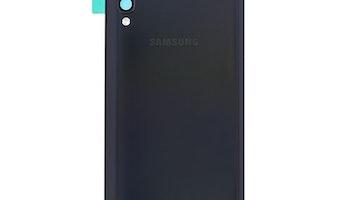 Samsung Galaxy A70 A705f Bak Glas batterilucka svart