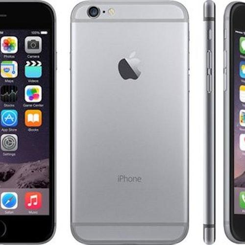 Begagnad iPhone 6 Svart 16GB Olåst