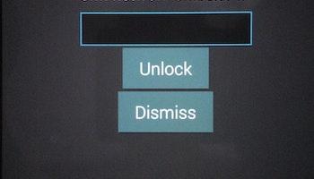 Samsung upplåsning kod