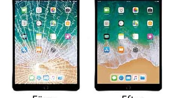 iPad Glas Touch Screen Reparation
