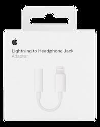 Apple Lightning till 3,5mm-adapter