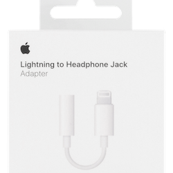 Apple Lightning till 3,5mm-adapter