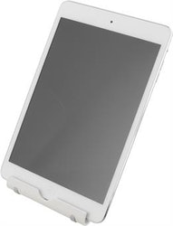 DELTACO Stativ för smarthone eller surfplatta, ställbar fot, vit