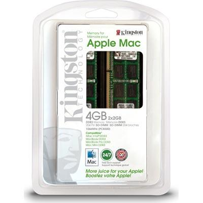 Kingston SO-DIMM DDR3 1066MHz Apple 2x2GB (RAN3-1066K2/4G)