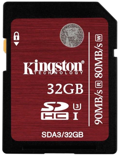 Kingston 32GB UHS-I U3 (SDA3/32GB)