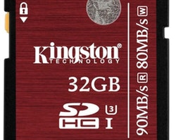 Kingston 32GB UHS-I U3 (SDA3/32GB)