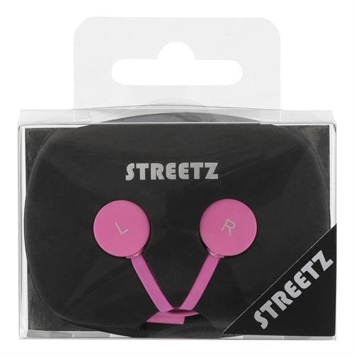 STREETZ Hörlurar In-Ear med Mikrofon, 3,5 mm