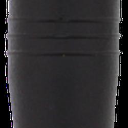 STREETZ in-ear öronsnäckor med 3,5mm anslutning, 3 olika storlekar på sleeves ingår, 1,2m kabel, svart/silver