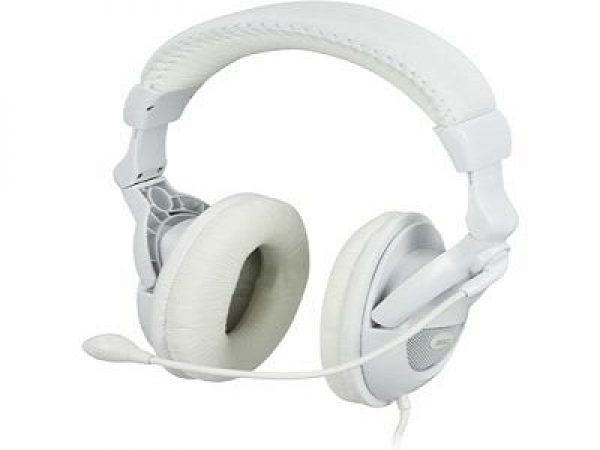 DELTACO headset with microphone and volume.