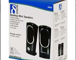 Deltaco Mini Speakers