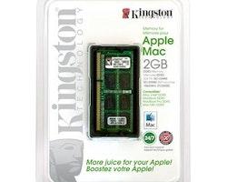 Kingston DDR3 SDRAM Minne 2 GB till Apple datorer