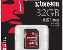 Kingston Canvas Select microSDHC-kort, 32GB, UHS-I, inkl. SD-korts, svart