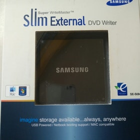 Samsung SE-S084 Super WriteMaster Slim External DVD writer