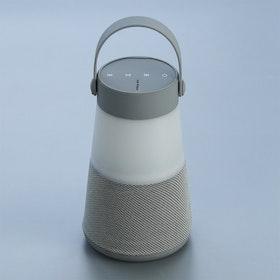 Camping Lamp Bluetooth Högtalare, Trådlös Ljudlåda Med AUX TF Card Slot Power Bank För PC