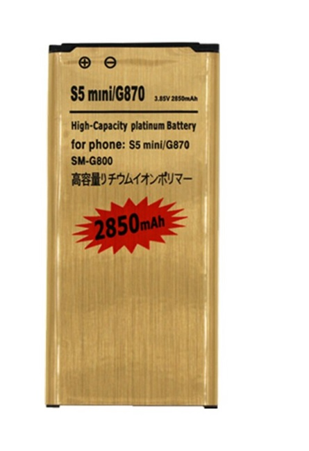 Samsung Galaxy S5 Mini G870 SM-G800F SM-G800H G800 G870A G870W gold Battery