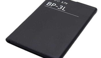 Nokia BP-3L kompatibelt batteri till Lumia 610 och Lumia 710 Li-ion 1300mAh