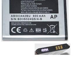 Samsung B110 E390 E570 E578 J700 J700i J700v J708 E398 T509 L760 AB503442BU Battery