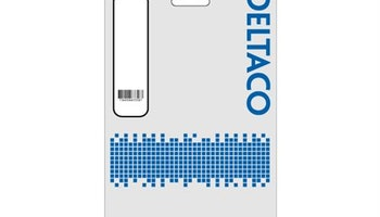 DELTACO U/UTP Cat5e patchkabel, 3m, 100MHz, Delta-certifierad, vit